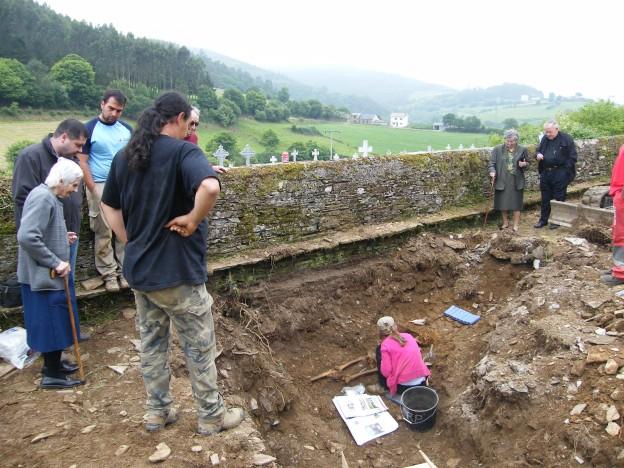 Exhumación Argomoso