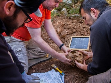 Exhumación Teilán II