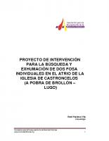 Proyecto de Intervención de Castroncelos 2
