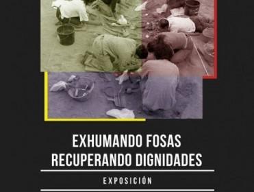 """La muestra """"Exhumando fosas, recuperando dignidades"""" llega al Valey"""