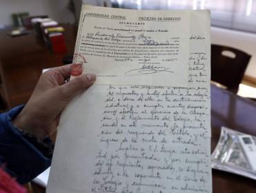La primera abogada de León tenía expediente de 'roja'