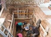 Los arqueólogos abren la cuarta fosa con un represaliado gallego fuera de la comunidad
