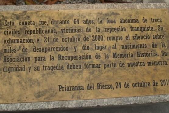 Priaranza, la fosa común que desenterró la Memoria y sepultó el silencio