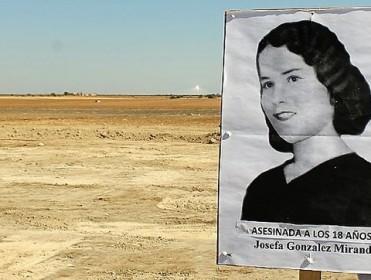 """La difícil búsqueda de las """"niñas"""" violadas y asesinadas por franquistas en El Aguaucho"""