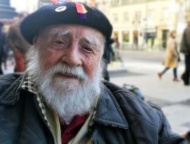 """Virgilio Fernández, exbrigadista: """"Los fascistas siempre han estado ahí"""""""