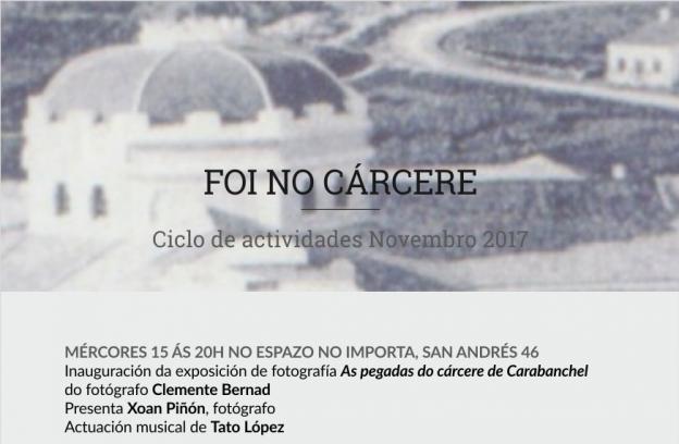 convite FOI NO CARCERE NOVEMBRO 2017