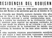 Una treintena de herederos de franquistas mantienen los títulos nobiliarios que les otorgó el dictador