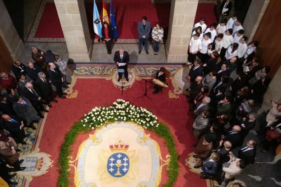 El Parlamento de Galicia homenajea a los 193 gallegos deportados a campos de concentración nazis