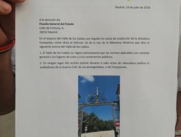Denuncian a Patrimonio Nacional y la Comunidad Benedictina por enaltecer la dictadura en el Valle de los Caídos