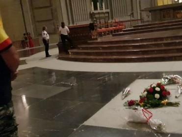 Una, grande y entre lágrimas por Franco: así ha sido la misa 'nacional' del patrón de España en el Valle de los Caídos