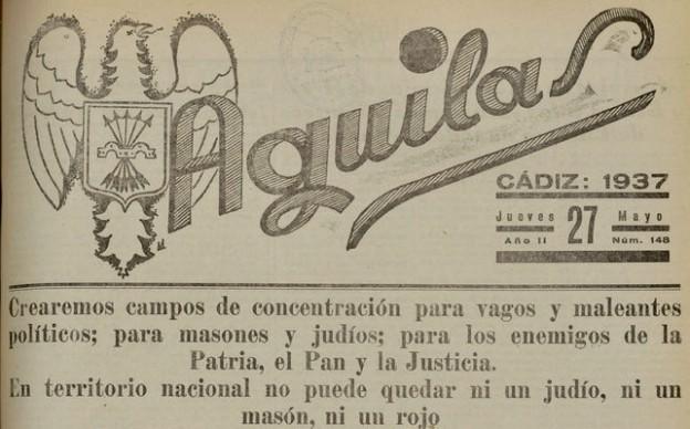 Portada-diario-falangista-Aguilar_EDIIMA20190124_0834_19