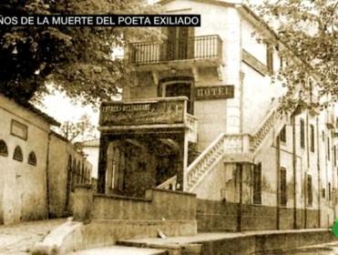 Los días azules y el sol de la infancia de Antonio Machado siguen vivos 80 años después de la muerte del poeta