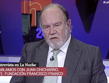 La ARMH presenta una queja a RTVE por entrevistar al presidente de la Fundación Franco