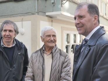 Reencuentro tras Mauthausen: «Meu pai espertábase de noite porque oía as botas dos alemáns»