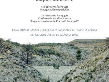 Exposición Memoria perdida de Miquel González