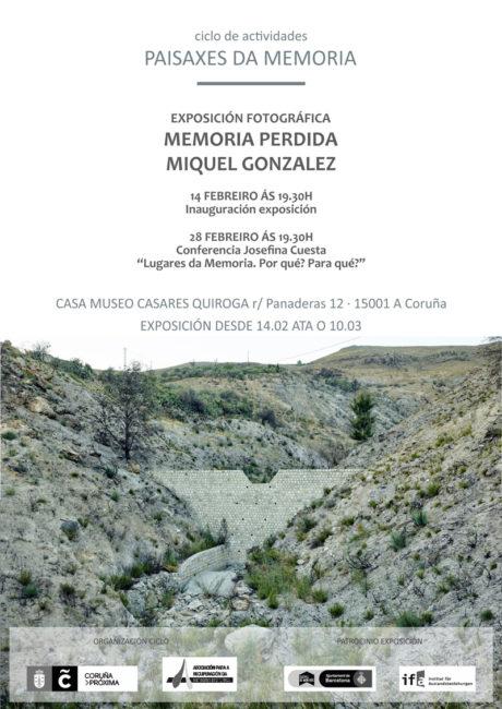 Exposición Miquel González en Museo Casares Quiroga