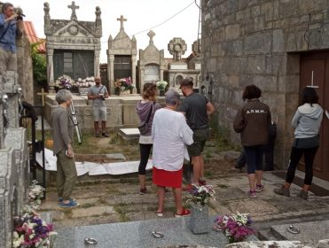 La ARMH comienza la búsqueda de dos vecinas de Ourense asesinadas por el franquismo en octubre de 1937