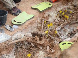 La falta de financiación para la Ley de Memoria Histórica lastra el hallazgo de más de medio centenar de fusilados en Alcañiz