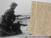 Una familia recibe la carta de un soldado inglés escrita justo antes de morir en Dunkerque: «Lo superaré bien»