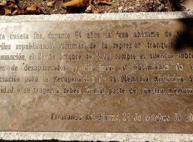 Memoria antifranquista para la salvación de España