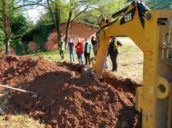 La ARMH reanuda la excavación de la fosa de El Rellán