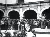 """El turista indignado ante el olvido del Parador de León como campo de concentración: """"Debería dejar de ser un hotel"""""""