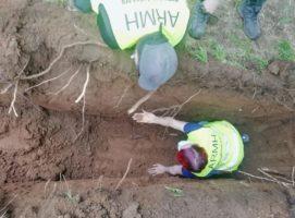 Retoman las exhumaciones de la fosa de El Rellán, en Grau